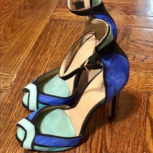 Zara Basic Open Toe Heels